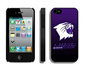 Custom Made Iphone 4 Cases Cover Best Cellphone Protector North Western Wildcats