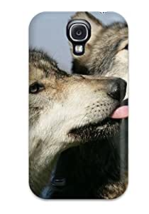 ExsRXYA678ClaHk Wolf Animal Wolf Awesome High Quality Galaxy S4 Case Skin
