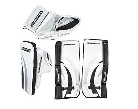 PowerTek Barikad V2.0 Yth. Hockey Goalie Goal Pad Set 24