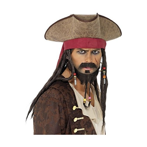 Pirate Facial Hair Set Costume