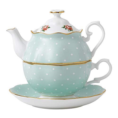 Royal Albert Tea-For-One-Polka Rose