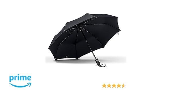 Amazon.com  ShedRain Stratus Collection Dualmatic Auto Open Auto Close  Compact Umbrella - Matte Black TPR Grip  ShedRain 24fc1cbefd7cb