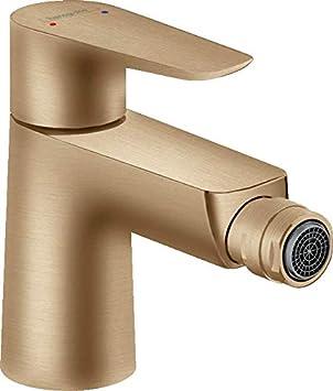 hansgrohe 71720140 Talis E - Grifo monomando para bidé (bronce cepillado)