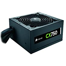 Corsair CX750 Builder Series ATX 80 Plus Bronze Certified Power Supply