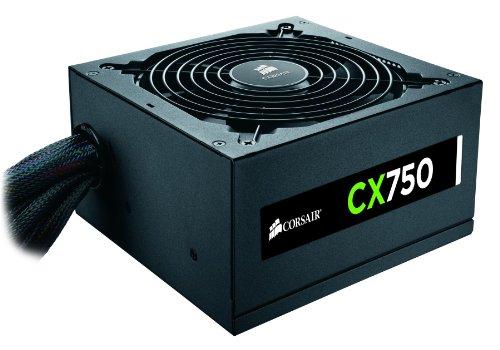 Corsair CX Series 750 Watt 80 Plus Bronze Certified Non-Modular Power Supply (CP-9020015-NA)