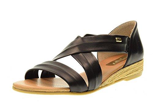 Valleverde 40101 Black Chaussures Sandales Black