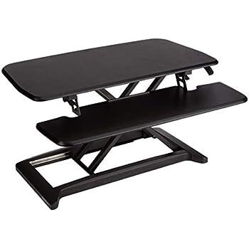 Amazon Com Vivo Height Adjustable Standing Desk Sit To