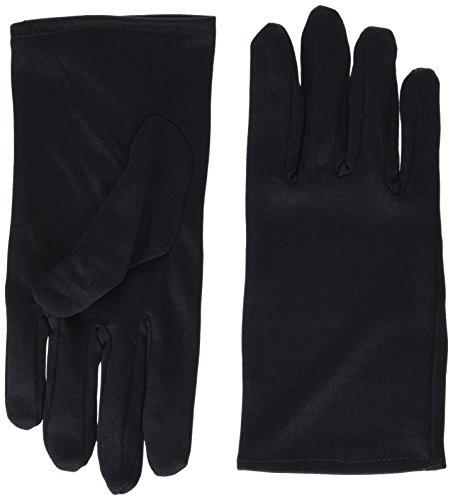 Women's Short Black Gloves]()