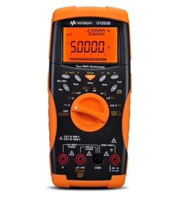 Keysight Technologies U1252B Handheld Digital Multimeter, 4.5-digit