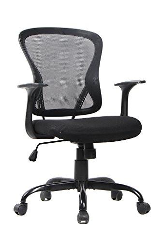 bonum office chair, black mesh