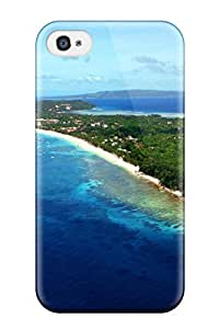 TYH - Hot New Design Shatterproof Case For Iphone 4/4s (boracay Philippines) 5121322K63505788 phone case