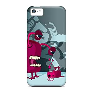 Hard Plastic Iphone 5c Cases Back Covers,hot Scary Monster Cases At Perfect Customized