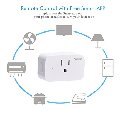 Mini Wifi Smart Plug 4 Pack - Voice Control Through Alexa and Google Assistant,Control Your Home Device from Anywhere,Supports Timing Switch,DIY Scenes,Device Sharing. by Anmaker (Image #5)
