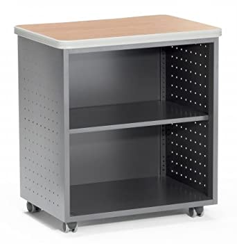 Great OFM 66745 MPL Mobile Utility Table With Shelf, 27.50u0026quot; ...