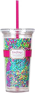 Lilly Pulitzer Tumbler, Lilly's Lagoon
