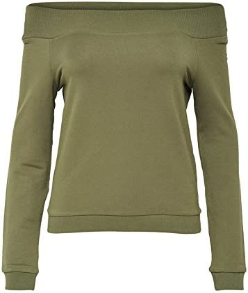 Only Onlsud Off Shoulder L/S Swt Sudadera para Mujer