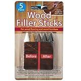 Furniture Repair Wood Filler Sticks Set - Pack of 108