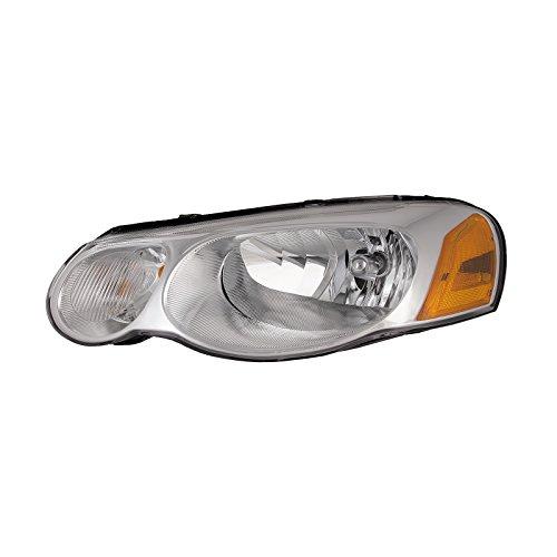Headlights Depot Replacement for Chrysler Sebring Convertible/4-Door Sedan New Driver Side Headlight