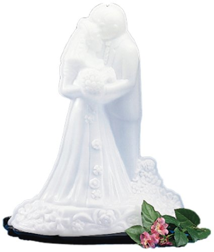 Carlisle SBG102 Bride and Groom Ice Sculpture Mold, Single Use, 22