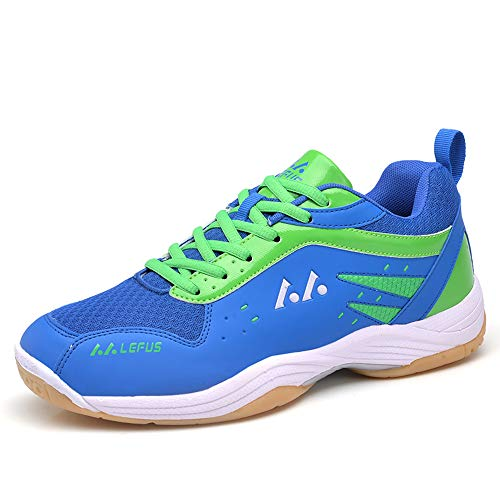 Ifrich Badminton Tennis Shoes Unisex Training Sneaker Volleyball Lightweight Court School Racquetball Running Shoe for Men Women