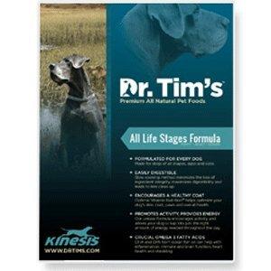 DR. Tim's All Natutal Pet Food Formula Kinesis for All Life Stages, (Dr Tims Dog Food)