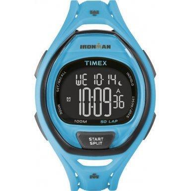 Timex-TW5M01900-Ironman-150-Lap-Full-Size-Sleek-Blue-Resin-Strap-Watch