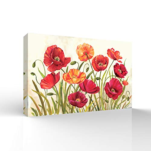 Wall26-Canvas Wall Art-Beautiful Flower-Giclee Painting Wall Art for Bedroom Living Room Home Decoration - 24x36 inches ()