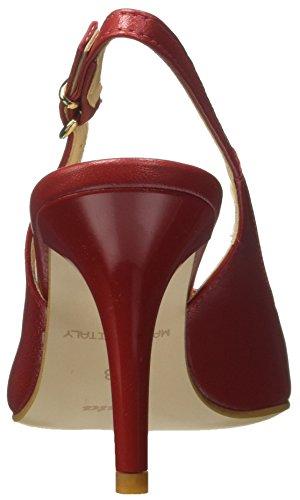 Rosa Cinturino con BATA 724196 Dietro Scarpe la Donna Caviglia col Tacco XwxHvFq