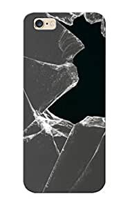 Runandjump Case Cover For Iphone 6 Plus - Retailer Packaging Broken Glass Protective Case