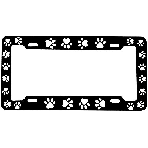 Black Frame Car Truck SUV Metal License Plate Frame (Car Truck Suv License Plate)