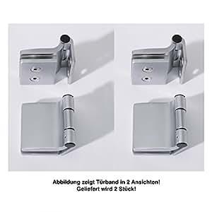 Infraworld–Puerta Banda rectangular para sauna puertas 2unidades para 6o 8mm puerta de cristal