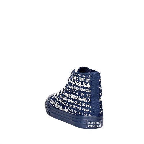 BH Club Polo Hills Sneakers Blau 5061 Hoch Beverly Boy qFwtEg