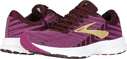Brooks Women's Launch 6 Aster/Fig/Gold 7.5 B US