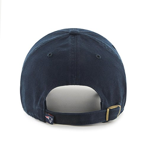 low cost 7a5eb 88957 ... NFL New England Patriots  47 Clean Up Adjustable Hat, Navy, ...