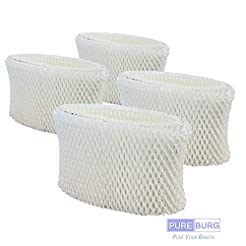 Pureburg 4-Pack Wick Filters for Kaz Vic...