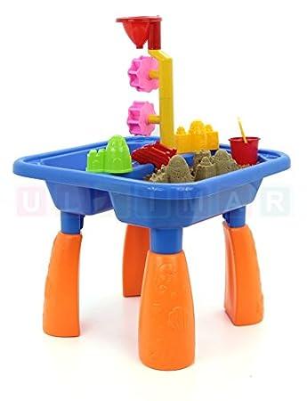 Kinder Spieltisch Sand and Water - Sandkasten Tisch - Sandspielset ...