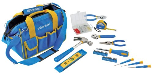 GreatNeck 21046 Essentials 32 Piece Around the House Tool Se
