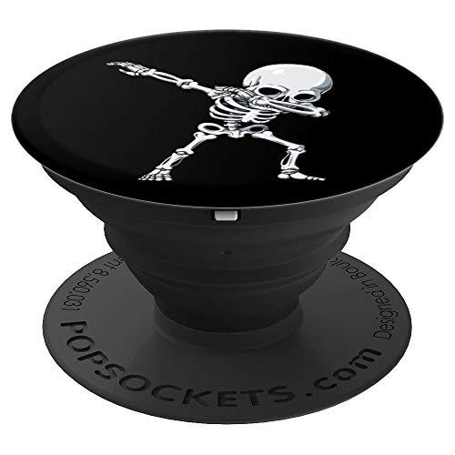 Dabbing Skeleton Halloween Funny Black Gift Cool Dab