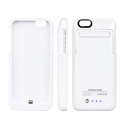 Excellent Value Apple 6s Portable Charger 3500mah Power Case (White) External Backup Battery For iPhone 6 6S