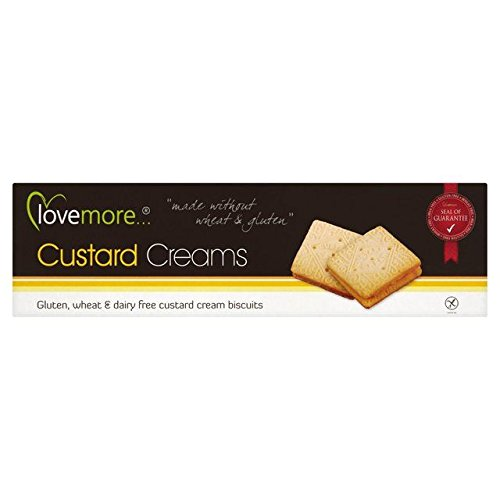 Free Custard Cream - Lovemore Free From Custard Creams (110g) by Lovemore