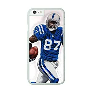 NFL Case Cover For Apple Iphone 6 4.7 Inch White Cell Phone Case Indianapolis Colts QNXTWKHE0828 NFL Phone Case Clear Hard