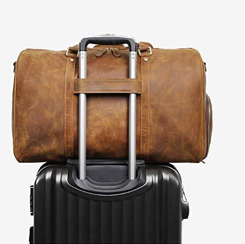 Da Circlefly Alta Viaggio Casual Pelle Con A Di Borsa Packaging Portatile Uomo Fitness In Qualità 5fq1f