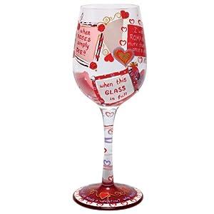 lolita love my wine glass who needs a valentine - Valentine Wine Glasses