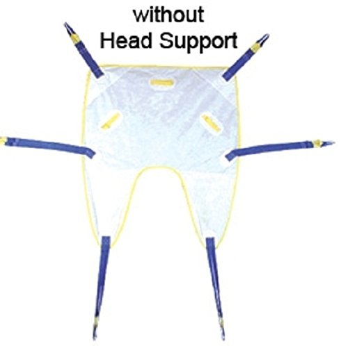 Alimed Full Body Disposable Patient Sling, Commode - Medium, 10 Per Case