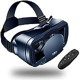 【Nuevo】 Gafas VR de Realidad Virtual,3D VR Gafas con Remoto Controlador, para Juegos Visión Panorámico Immersivo para…