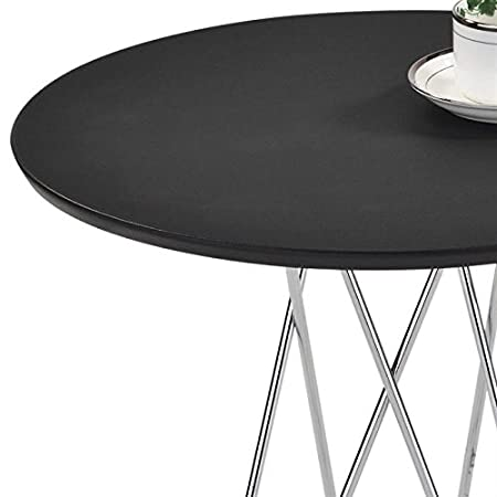 Idimex Table Dappoint Benno Table Basse Ronde Bout De Canapé Design