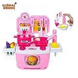 1 Piece Global Drone DIY Pretend Play Kitchen Toys for Children Mini Kitchen