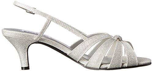 Sandal Silver Inc Sparkle Fiona Womens Dyeables Women's Dress wUvqXgYd