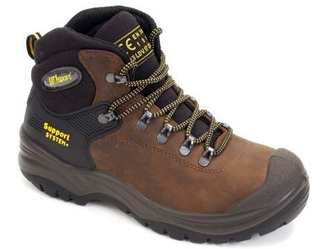 Grisport Contractor Safety Boot Brown Size 41 RRP Ã'£60.00 OUR PRICE Ã'£45.00 by Grisport