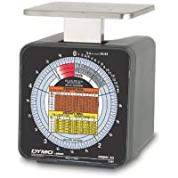 Dymo by Pelouze K5 5-lb.Capacity Radial Dial Mechanical Package Scale, 4-1/2 x 4 Platform